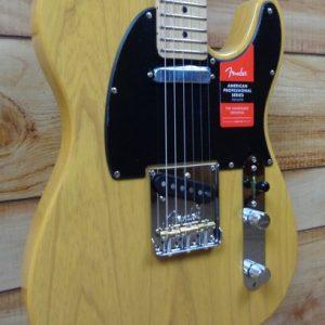 Fender® American Professional Telecaster® Maple Fingerboard Butterscotch Blonde w/Case
