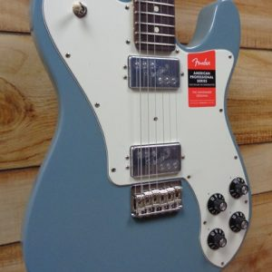 Fender® American Professional Telecaster® Deluxe ShawBucker Rosewood Fingerboard Sonic Gray w/Case