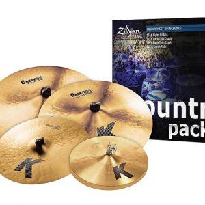 Zildjian K0801C K Series Country Cymbal Set